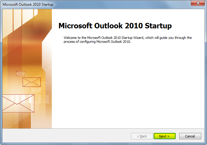 outlook2010-start