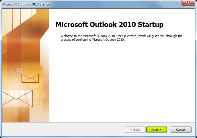 outlook2010-start
