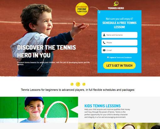 Tennis Hero Preview